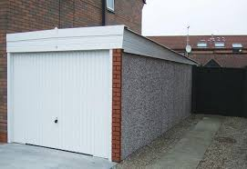 hanson garage doorHanson Knight Royale Range Pent Roof Garages  Megasheds North Wales