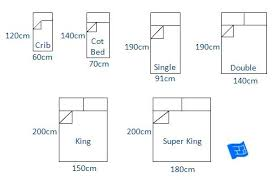 Single Bed Measurements Bed Sizes Chart Single Bed Mattress Size