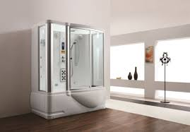 latest steam shower room with jacuzzi bathtub m 8250