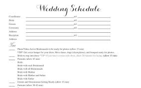 free wedding itinerary templates and timelines Wedding Week Itinerary Template a sample wedding itinerary template wedding week itinerary template design