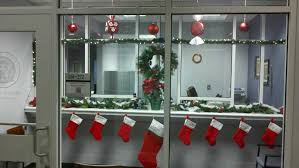 christmas themes for the office. Exellent For Holiday Decor Resovate Christmas Christmas Decoration Ideas For Front Office  Decorating Themes Office Inside Themes The