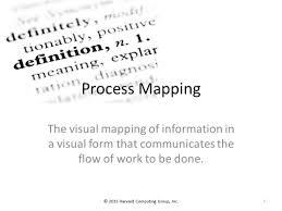 Harvard Computing Group Fundamentals Of Process Mapping