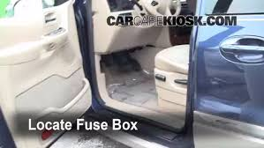 interior fuse box location 1999 2003 ford windstar 2002 ford locate interior fuse box and remove cover