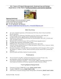 Rashesh M Shah  Resume' Page # 1 of 5 32+ Years of Project ...