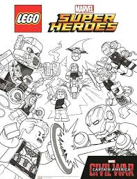 Kids N Coloring Pages Of Marvel Avengers Avengers Civil War 2 Marvel