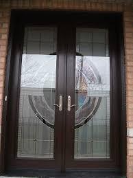8 foot fiberglass doors milan design exterior door installed