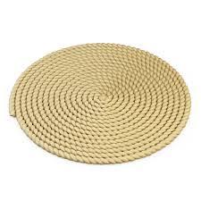 a thick mat of jute rope 3d model max obj fbx mtl 3
