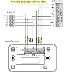 2 stage heat pump thermostat wiring 2 image wiring replacing the coleman mach thermostat an ecobee on 2 stage heat pump thermostat wiring