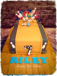 Bowling Pin Cake Decorations 100 best cake bowling images on Pinterest Bowling party 75