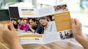 school brochure design ideas guidelines to creating better educational brochures