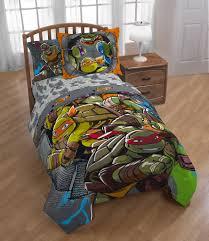 nickelodeon teenage mutant ninja turtles 5 piece twin bed set kid s bedding set