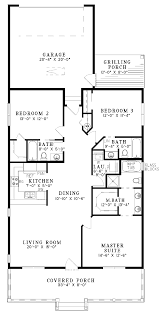Small 5 Bedroom House Plans Three Bedroom Country 19 One Story Floor Plans By Checkoutplan
