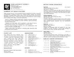 Fashion Design Resume Resume For Designer Of Fashion Fashion Resume  Template Cv Examples For Fashion Sample