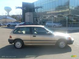 1990 Laguna Gold Metallic Honda Civic DX Hatchback #60561462 ...