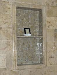 tile shower shelf recessed shelves ceramic walls with insert niche