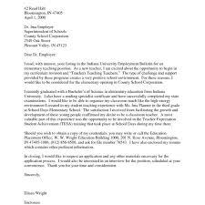 Good Sample Cover Letter For Teaching Position In Community     Bright Hub