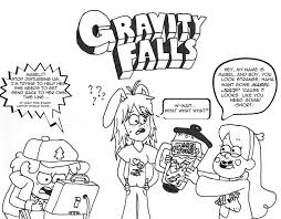 Holiday Coloring Pages » Gravity Falls Coloring Pages - Free ...
