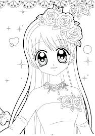 Anime Girl Coloring Pictures Qnrfsubmission