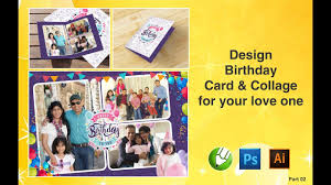 How To Design Birthday Card In Coreldraw Birthday Greeting Card Design In Coreldraw