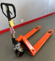 pallet jack. ces #20543 new manual pallet jack