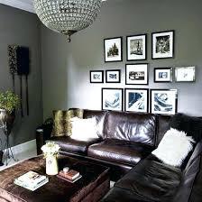grey walls brown furniture grey living room home decorating image grey walls dark brown couch grey walls