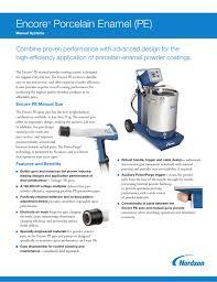 Powder Transfer System Design Encore Porcelain Enamel Pe Manual Systems Manualzz Com