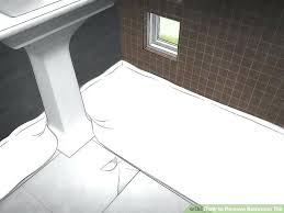 how to remove tile from floor image titled remove bathroom tile step 1 remove tile mastic