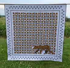 Bear Paw Quilt Pattern Custom Free Tutorial MOD Bear Paw Quilt