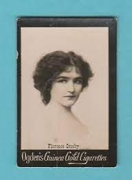 ACTRESS - OGDENS GUINEA GOLD ACTRESS CARD - FLORENCE CROSBY - 1900   eBay
