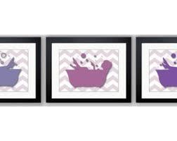 bathroom decor bathroom print purple and plum girls in a bathtub tub set of 3 bathroom art prints wall decor modern minimalist on purple bathtub wall art with bathroom wall decor bathroom print black white gold wall art