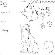 Tremendous Warrior Cats Coloring Pages Zoloftonline Buy Info