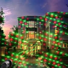 Solar Projector Christmas Lights Holigoo Christmas Laser Lights Projector Waterproof Red And