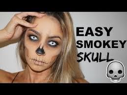 easy makeup tutorial smokey skull you