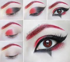 step by step makeup tutorial harley quinn joker costumes makeup cosplay ideas