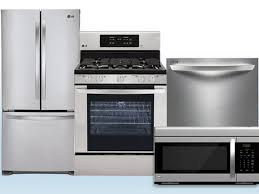Stainless Kitchen Appliance Packages Kitchen 4 Piece Stainless Steel Kitchen Appliance Package 00018