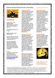 February Newsletter Template Halloween Newsletter Template Pdf Pdf Format E Database Org