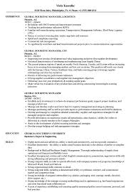Sourcing Manager Resume Global Sourcing Manager Resume Samples Velvet Jobs 24