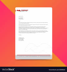Professional Letterhead Design Samples Free Download Professional Letterhead Design Template