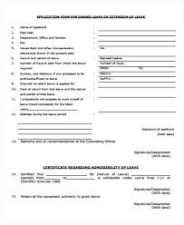 Leave Request Form 4 Holiday Application Template Ireland Employee ...