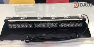 Đèn Trong Kính LED23X Xe Ưu Tiên Xanh Đỏ Gắn Trong Xe Ô Tô–Lắp Tap Lô LED -23X
