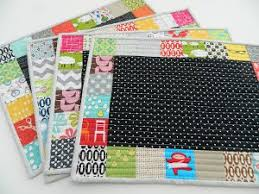 Pick a Place: Easy Quilted Placemat Patterns, Quilted Mug Rugs ... & Easy Quilted Placemat Patterns Adamdwight.com