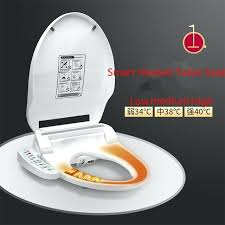 automatic toilet seat smart heated toilet seat instant hot type intelligent automatic toilet lid cover electric