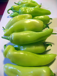 wash the peppers slice remove seeds discard stem ends