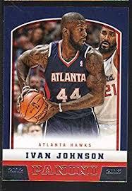 2012-13 Panini NBA Basketball #224 Ivan Johnson Hawks at Amazon's Sports  Collectibles Store