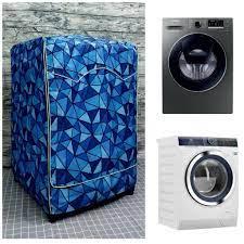 Áo Trùm Máy Giặt Vải Dù Cao Cấp dành cho Máy giặt Samsung cửa ngang 10kg mã  WW10K54E0UX/SV (H:85cmxW:59.5cmxD:63cm) tại TP. Hồ Chí Minh