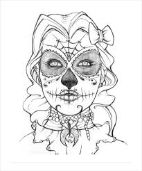 Small Picture Free Skull Coloring Pages Excellent Beautiful Girly Skull