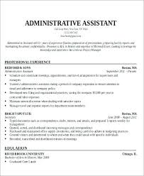 Resume Objectives For Administrative Assistant Classy Resume Objectives For Administrative Assistant Position Letsdeliverco