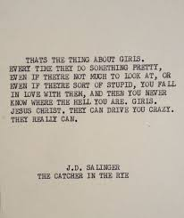 Catcher In The Rye Quotes Beauteous THE CATCHER In The RYE My Favorite Quotations Pinterest