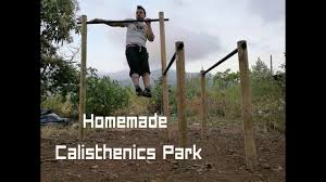 diy homemade calisthenics park with less than 70 how to make
