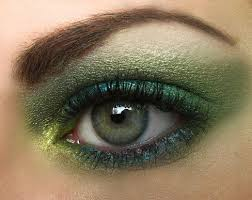 eye makeup for brown hair fair skin and green eyes